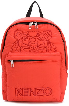 Kenzo Tiger padded backpack