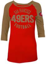 5th & Ocean Women's San Francisco 49ers Rayon Raglan T-Shirt