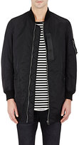 R 13 Men's Oversized Flight Jacket-BLACK