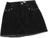 MANGO Blue Cotton Skirt for Women
