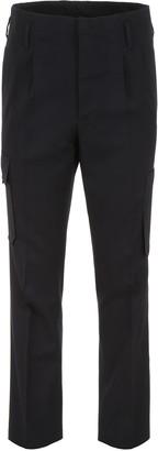 Lanvin Wool Cargo Trousers
