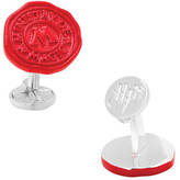 Cufflinks Inc. Men's Ministry of Magic Wax Stamp Cufflinks