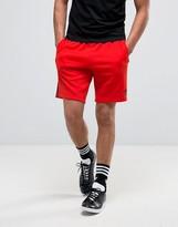 Adidas Originals Superstar Shorts In Red Bk0007