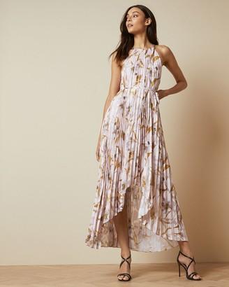 Ted Baker Cabana Pleated Maxi Dress