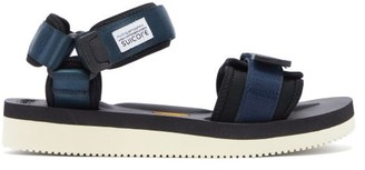 Suicoke Cel-v Two-strap Neoprene Sandals - Navy