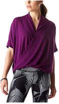 Lucy Women's Yoga Flow Short Sleeve Shirt - Gloxinia Athletic Clothing