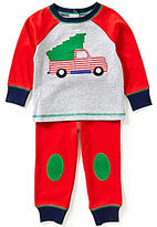 Starting Out Baby Boys 12-24 Months Christmas Tree and Truck-Appliqued Top and Pants Set