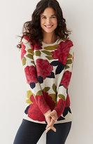 J. Jill Winter Garden Sweater