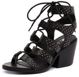 Sol Sana New Rudey Heel Black Silver St Womens Shoes Casual Sandals Heeled
