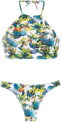 AMIR SLAMA Printed Bikini