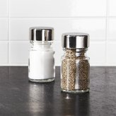 Crate & Barrel Set of 2 Harrison Salt and Pepper Shakers