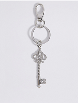 M&S Collection Pave Key Keyring