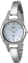 Seiko Women's SUP213 Stainless Steel Bangle Watch