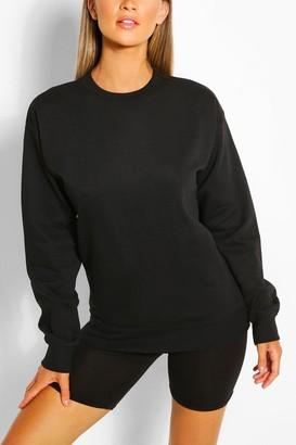 boohoo Recycled Oversized Sweatshirt