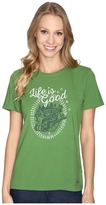 Life is Good Jake And Rocket Sled Crusher Tee