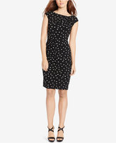 American Living Polka-Dot-Print Sheath Dress