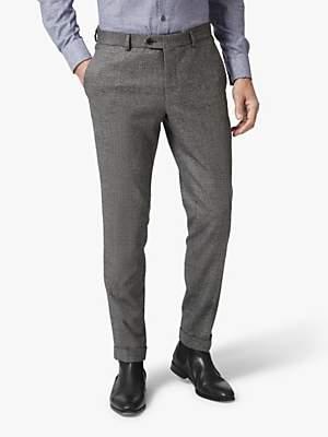 Richard James Mayfair Textured Trousers, Grey