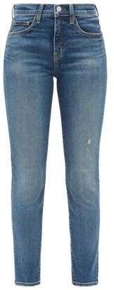 Nili Lotan Mid-rise Slim-leg Jeans - Denim
