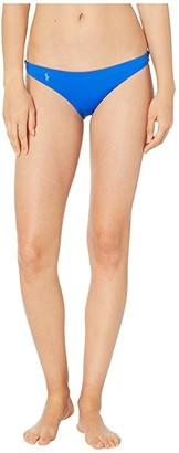Polo Ralph Lauren Modern Solids Devin Hipster (Cobalt) Women's Swimwear