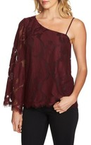 1 STATE Women's 1.state One-Shoulder Lace Top