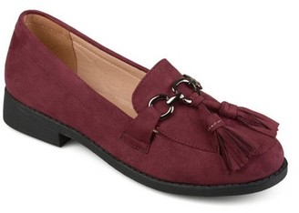 Brinley Co. Tassel Faux Suede Loafers (Women's)