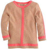 J.Crew Girls' framed sweater