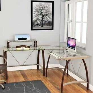 Bustleton Reversible L-Shape Desk Orren Ellis