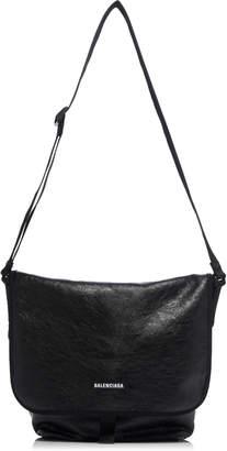 Balenciaga Explorer Leather Cross-Body Bag