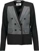 MM6 MAISON MARGIELA Paneled wool-blend blazer