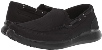 Propet Viasol (Black) Men's Slip on Shoes
