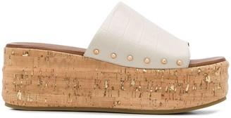 Kurt Geiger Monica 70mm platform sandals