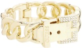GUESS Buckle Hinge Frozen Chain Bracelet w/ Pave Accent