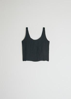 Raquel Allegra Women's Easy Tank Top in Black, Size 3