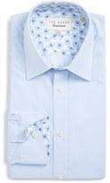 Ted Baker Men's 'Vachel' Trim Fit Dot Dress Shirt