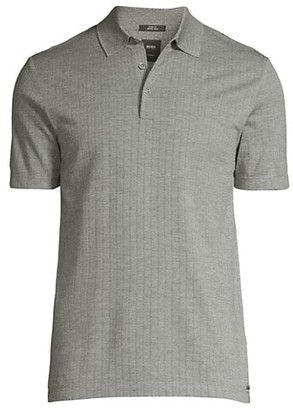 HUGO BOSS Peterson Jacquard Polo Shirt