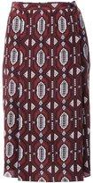Nehera foulard print skirt