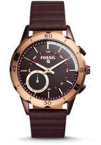Fossil Hybrid Smartwatch - Q Modern Pursuit Wine Leather