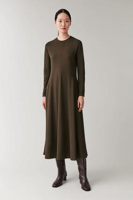 Cos Long Slim-Fit Dress