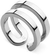 Calvin Klein Silver-Tone Open Ring