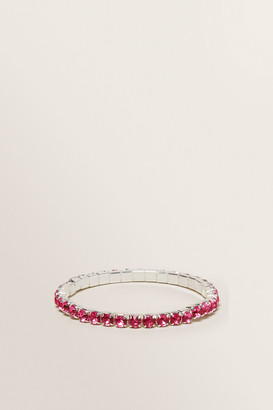 Seed Heritage Diamante Stretch Bracelet