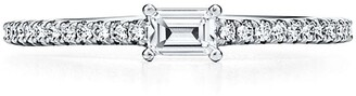 Tiffany & Co. Novo Horizon ring in platinum with diamonds