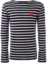 Comme des Garcons striped jumper - men - Wool - L