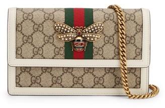 Gucci Queen Margaret Bee GG Wallet