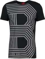 Björn Borg Liam Print Tshirt Black
