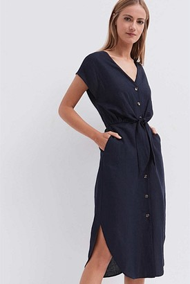 Witchery Tie Front Dress