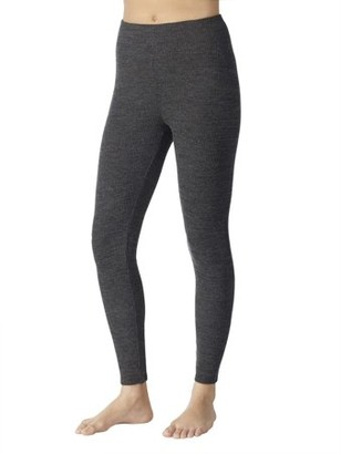 ClimateRight by Cuddl Duds Women's Brushed Sweater Knit Warm Underwear Legging