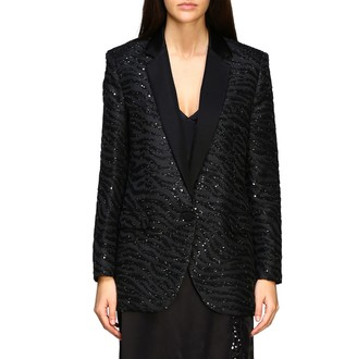 MICHAEL Michael Kors Jacket Blazer In Jacquard With Tiger Motif And Sequins