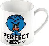 Mr Men Creative Tops Mr Perfect Fine China Mug, Multi-Colour