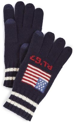 Polo Ralph Lauren RL Flag Merino Touch Gloves