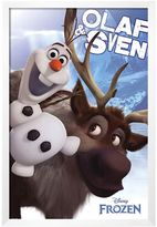 Art.com Disney's Frozen Olaf and Sven Framed Wall Art by